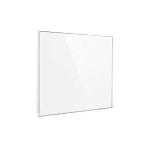 Klarstein Wonderwall 36 Infrarot-Heizung - Wandheizung, 60 x 60 cm Heizpanel, 360 Watt, Carbon Crystal Technik, Wochentimer, Auto-Abschaltfunktion, Allergiker-geeignet, IP24, weiß