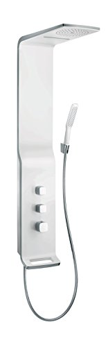 Hansgrohe Colonne de Douche Murale Duschpaneel Raindance Lift 2 jets Mitigeur thermostatique Blanc/chrome 27008400