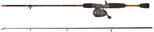 Zebco 33 Micro Camo Ultra Light Spincast Combo (2-teilig), 152 cm