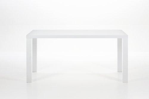 White Spice Modern High Gloss White Dining Table - Designer Furniture Range