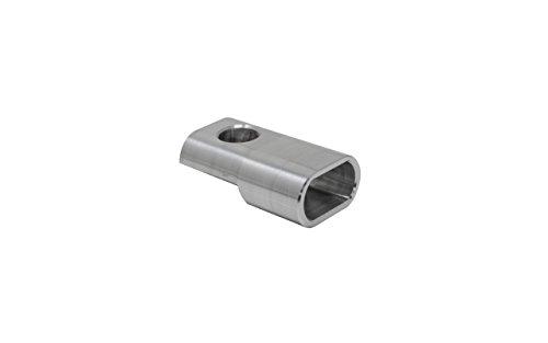 Blinkergehäuse Aluminium Universal für 15,5mm LED Einsätze mit Halterung nach hinten Blinkerhalter LED-Blinker Armaturen Lenkerarmaturen Blinker (Ohne LED) (Harley Led-blinker-einsätze)
