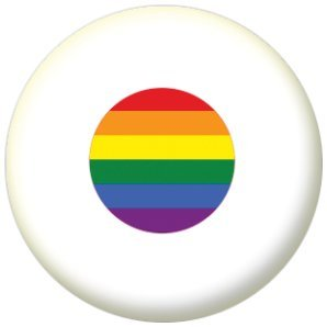 Japan Gay Pride Flag 58mm Mirror Keyring