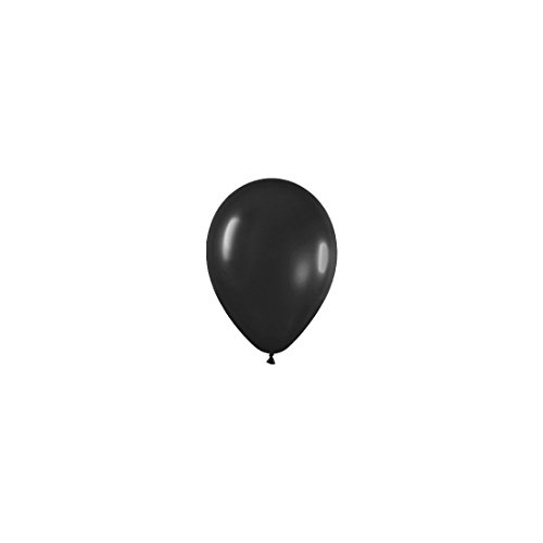Sempertex Bolsa de 100 Globos, Color Negro, 13 cm (R5-580)