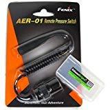 EdisonBright Fenix aer-01Fernbedienung Druck Schalter mit bbx3Akku Tragetasche für TK22Military neutralweiss tk15C tk15ue TK09PD35uc35aer01AR102 Fenix Tk-serie