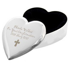 First easter gifts amazon personalised cross heart trinket an excellent gift for girls easter 1st birthday baby children with free personalisation negle Gallery