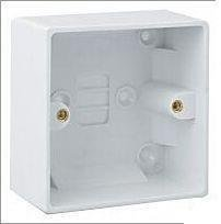 Single Surface Cooker Shower Back Box Pattress 47mm by LGA
