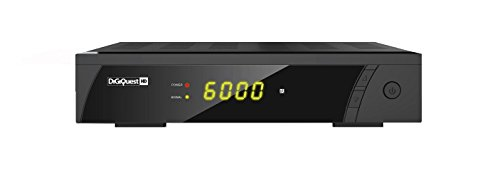 DigiQuest 8010HD digitaler Full HD Satellitenreceiver FTA HDTV DVB-S2 (HDMI, Scart, Display, USB 2.0)