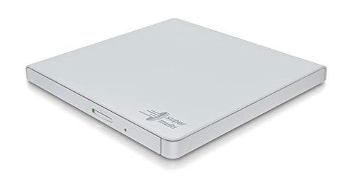 LG GP57EW40.AHLE10B Ultradünne tragbare USB 2.0 DVD-RW - Weiß