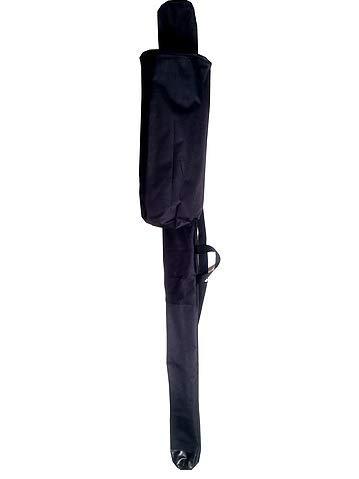 Wasserdichte Berimbau Tasche für Berimbau Bateria Capoeira schwarz Large schwarz