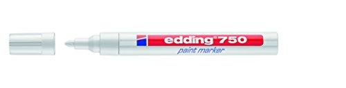 Edding 750-049 - Marcador permanente tinta opaca punta