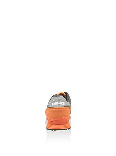 Diadora , Herren Sneaker Grün Verde Verde/Arancione