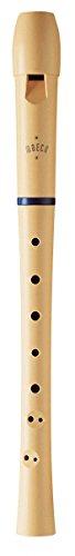 Moeck 1021 Flauto 1 Sopran - Barocke Griffweise, beige