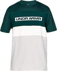 Under Armour Herren Pursuit Short Sleeve Graphic C&s Tee kurzärmelig, Batik (366)/Onyx White, X-Large (Sleeve Graphic Short T-shirt Basketball)