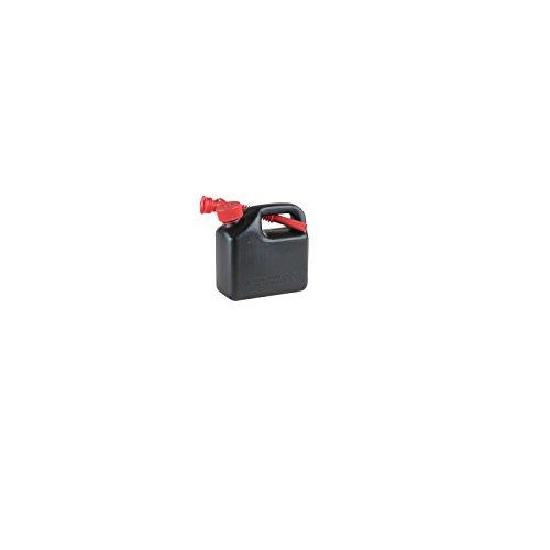 Preisvergleich Produktbild hünersdorff Kraftstoff-Kanister STANDARD 3l für Benzin, Diesel und andere Gefahrgüter, UN-Zulassung, made in Germany, TÜV-geprüfter Produktion, schwarz