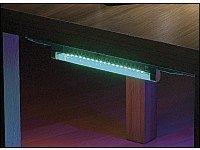 Lunartec LED-Universal-Leiste blau mit Anschlusskabel 1,2m