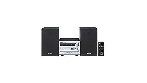 Panasonic SC-PM250B Micro HiFi(mit CD,UKW/DAB+, Bluetooth, USB, 20 Watt RMS) silber -
