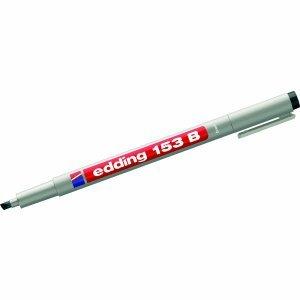 10-x-edding-ohp-marker-schwarz-keilspitze