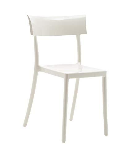 Kartell Chaise Catwalk Philippe Starck avec Design Sergio Schito - Chaise de Salle à Manger - Chaise de Jardin - Chaise de Cuisine - Chaise de Cuisine - Chaise de Jardin - Chaise de Cuisine