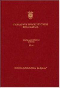 Thesaurus inscriptionum eblaicarum