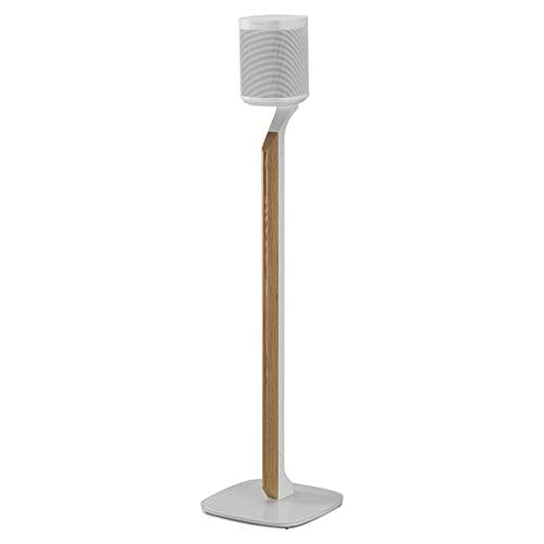 2115psB29FL. SS500  - Flexson Premium Floor Stand for Sonos One, One SL and Play:1 - White (single)