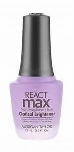 Morgan Taylor reagieren Max Formaldehyd frei Nail Nagelhärter + Extended Wear Base Coat–Optische Aufheller (Hair Spray Black Ice)