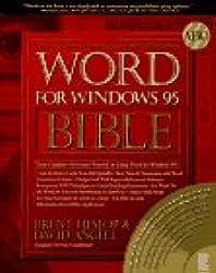 Word for Windows 95 Bible (Teach Yourself VISUALLY (Tech))