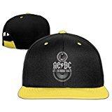 Harriy Acdc-Let Rock Sunbonnet Hat Adjustable Flat Bill Cap RoyalBlue