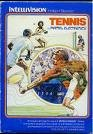 Intellivision Tennis Video Game