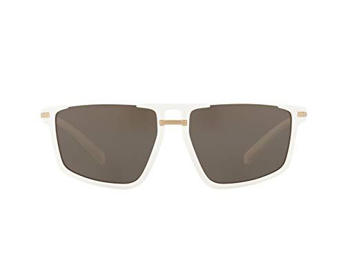 Ray-Ban Herren 0VE4363 Sonnenbrille, Schwarz (White), 60.0