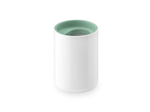 Authentics Lunar Boîte avec Couvercle Blanc, Vert Clair pour Cotons, Plastique, 1200419