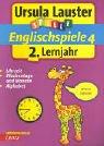 Englischspiele 4-2. Lernjahr: Uhrzeit, Wochentage und Monate, Alphabet