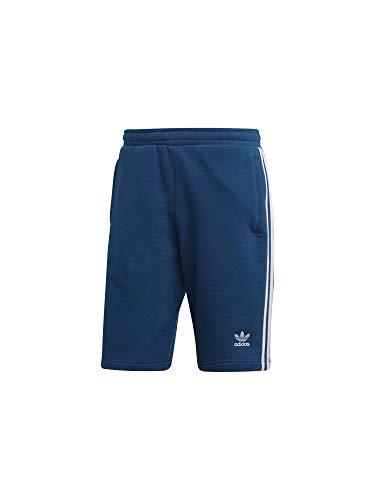 Adidas 3-stripe short, pantaloncini uomo, legend marine, m
