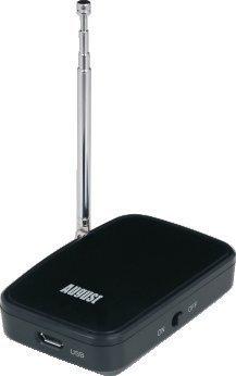 August DVB-T405 – Transmisor de Televisión WiFi para Android y Apple – Sintonizador TDT WLAN para Tabletas y Smartphones – Siano Meron Broadcast Dongle