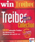 WIN Treiber Collection. 3 CD- ROMs für Windows 95/98/ NT 4.0. 1333 aktuelle Treiber. Für optimale Leistung. Quartal 2/99 (2000 Quartal)