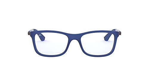 Ray-ban 0ry 1549 3655 48 montature, blu (matte blue), unisex-bambini