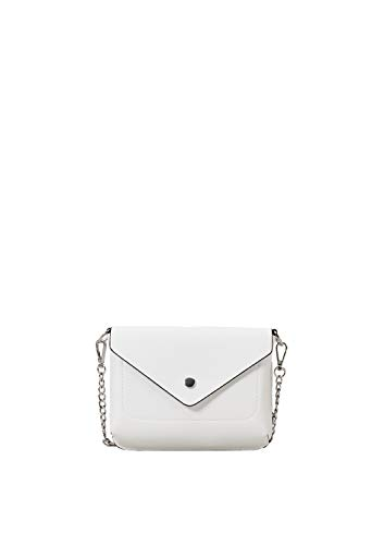 s.Oliver RED LABEL Damen City Bag mit Ketten-Detail creme 1 -