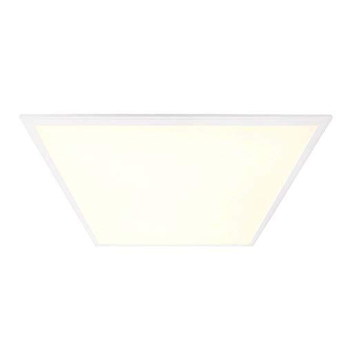 Kapego LED Einlegerasterleuchte Eco Line Panel 220-240V 40 W Warmweiß 3000K Weiß von Deko-Light 100027 - Eco-panel