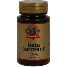 Beta-Caroteno 90 perlas de 10000 ui de Obire