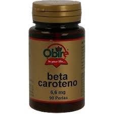 Beta-Carotene 90 pearls from 10000 ui de Obire