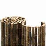 Noor Bambusmatte Black Edition Ø 24 mm 0,90 x 2,50 m