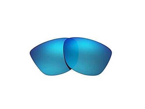 Polarisierte Ersatzgläser für Oakley Reverie OO9362 Gr. 85, blau