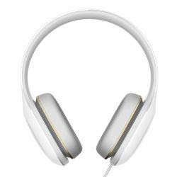 Xiaomi Mi Headphone Comfortable Design on-Cord Mic 50mm Diaphragm Portable White