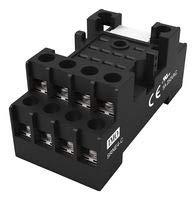 Imo Precision Controls Relay Socket, DIN Rail/Panel, 14P, Screw SRNE4-C -