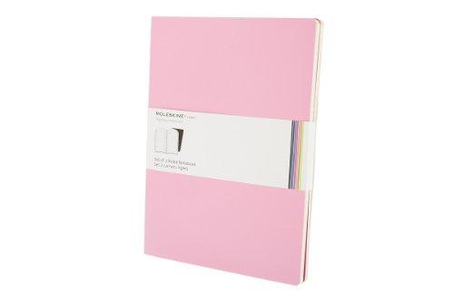 Moleskine s33230 volant quaderno con righe, grande, rosa