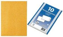 Preisvergleich Produktbild Mailmedia Versandtasche B5 braun 50stk