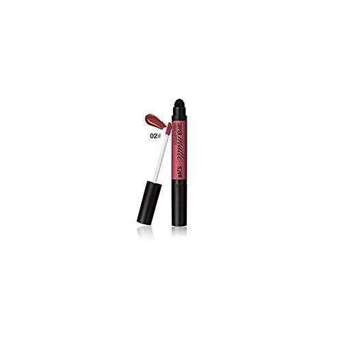 Dtuta Lippenstifte, Frau Wasserdicht Lippglosse Doppel-Lipgloss, Mehrfarbig, Einfach Aufzutragen