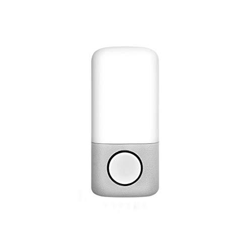ZYJ Nachtlicht Nachtlicht Smart-Nachttischlampe Modern Style Musik Schlaf Licht Intelligente Nachttischlampe Schlaf-Nachtlicht 10 * 22cm Schlummerleuchten (Color : A) -
