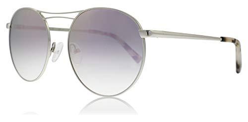 Kendall + Kylie KK4009 081 Silber glänzend Bella Round Sunglasses Lens Category 3 Lens Mirrored Size 57mm