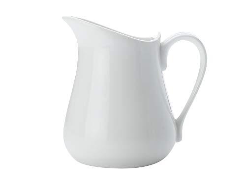 Maxwell & Williams Kitchen Krug, Porzellan, Weiß, 13x10x12,9 - Weiße Hohe, Keramik-krug