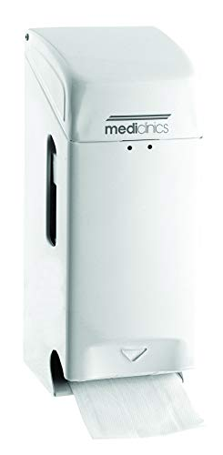 All Care 13311 Mediclinics Stahl 3Rollenspender, Weiß